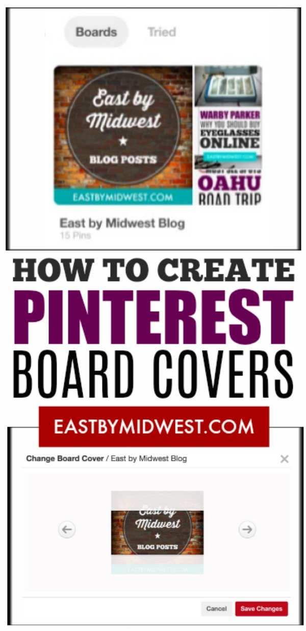 Pinterest Board Covers
