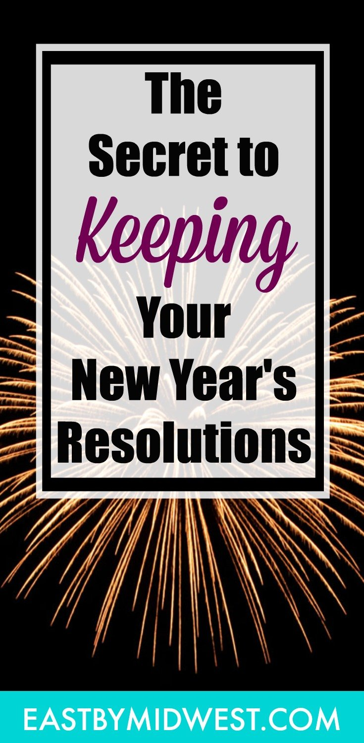 Do you struggle to keep your New Year\'s resolutions? If so, you\'re not alone! Many people have a hard time sticking to their resolutions. Make this year the year that you keep your resolutions. Follow these easy tips to keep your resolutions going all year long! #resolutions