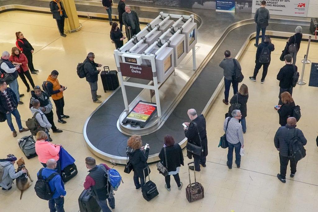 Travel - Baggage return