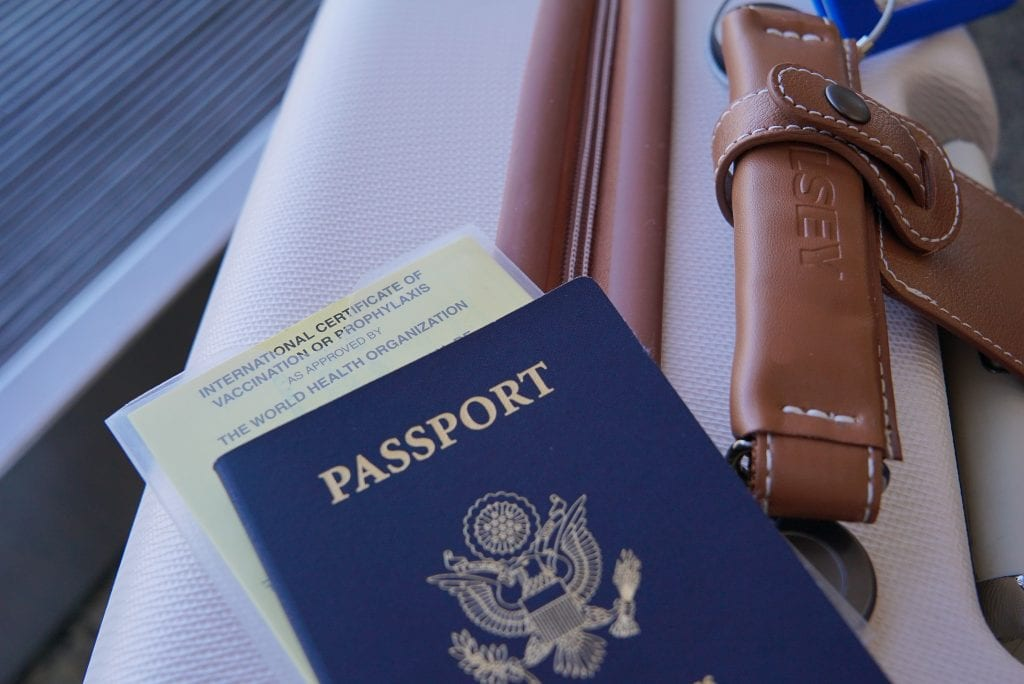 Travel vaccinations and medicine