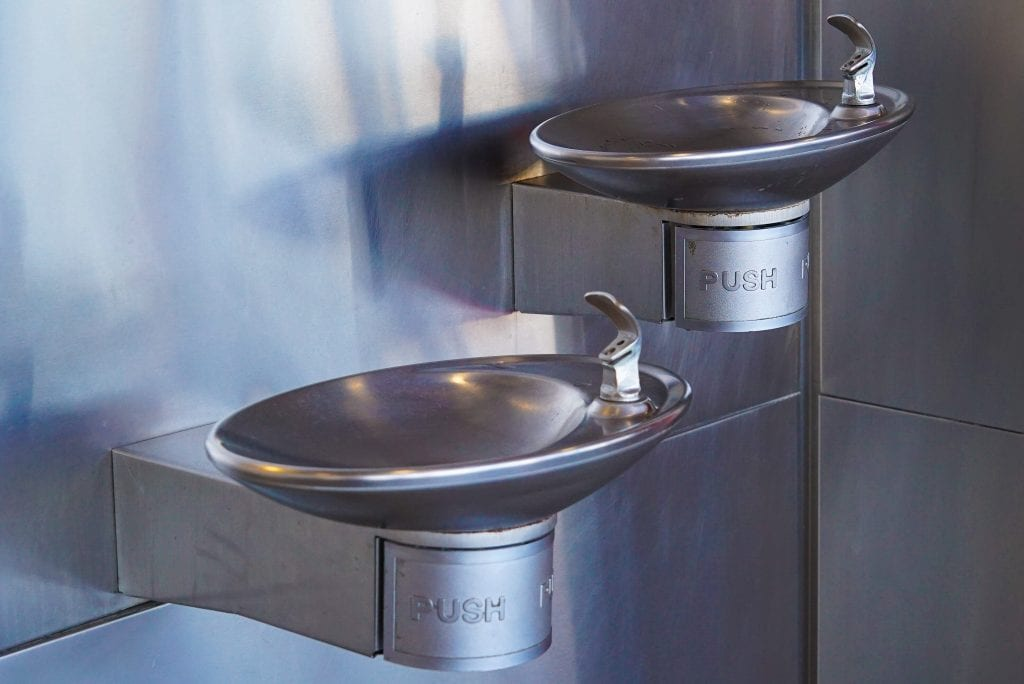 Travel water fountain