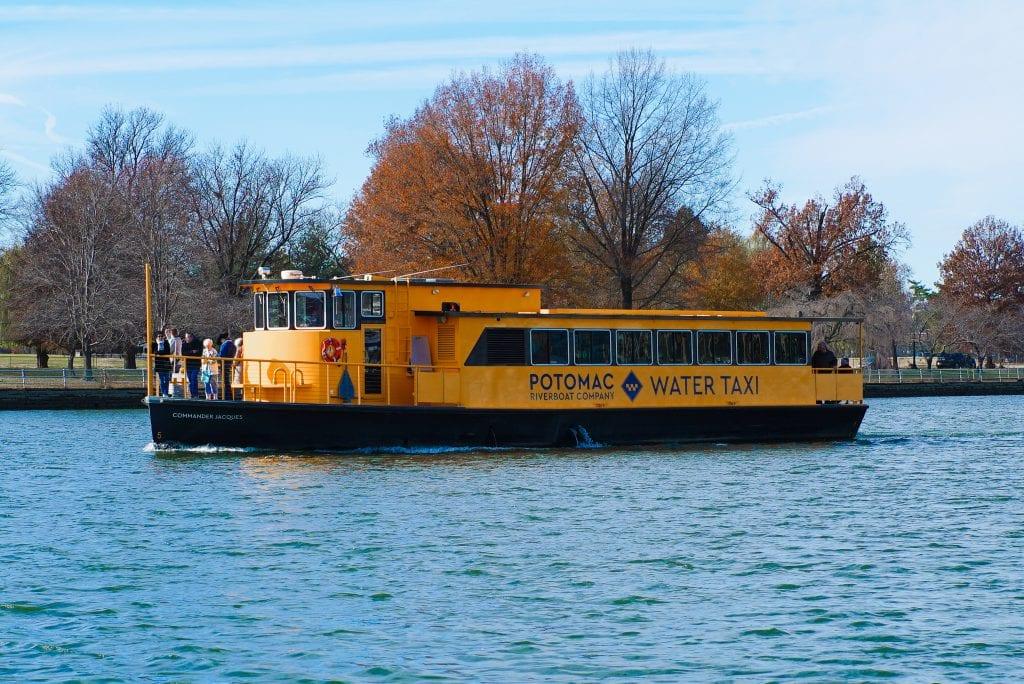 Water Taxi The Wharf Washington DC