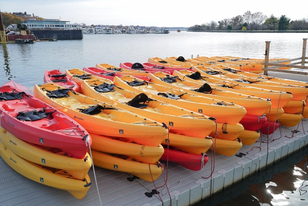 Kayak Paddle Board The Wharf Washington DC