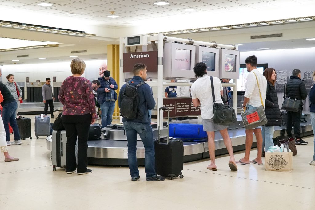 Disastrous travel mistakes - baggage claim