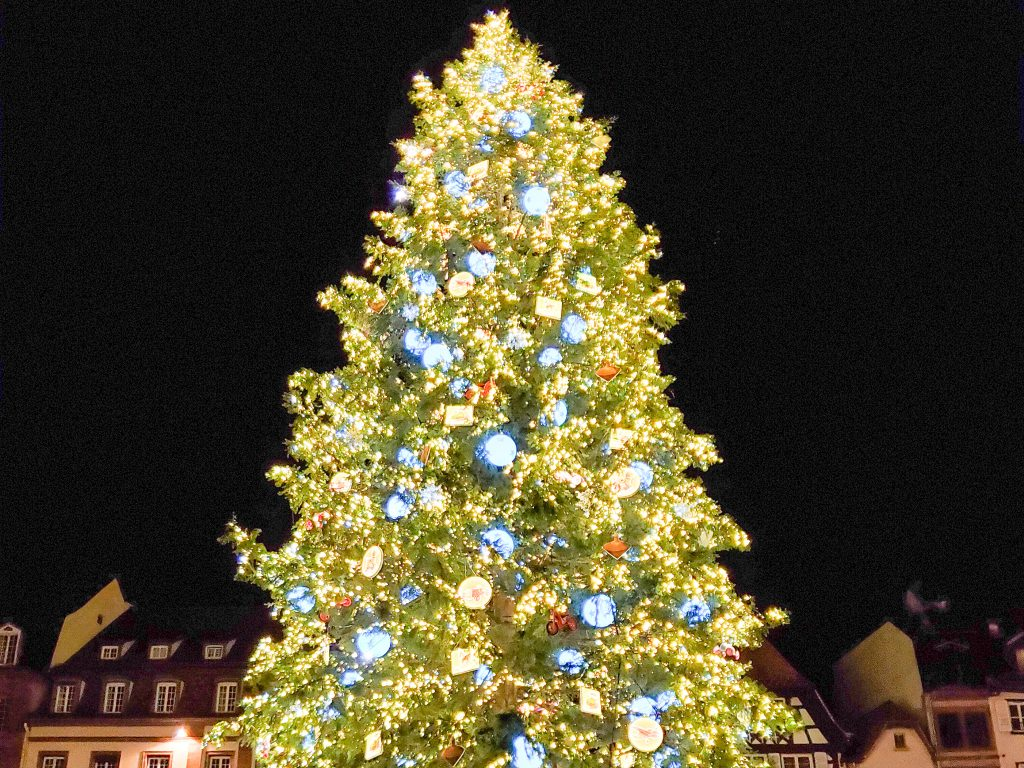 Strasbourg Christmas tree - France Christmas markets need to know