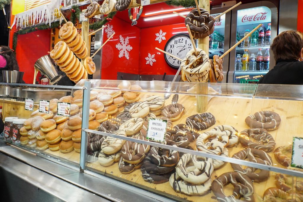 Bretzels at Strasbourg Christmas market - France Christmas markets need to know