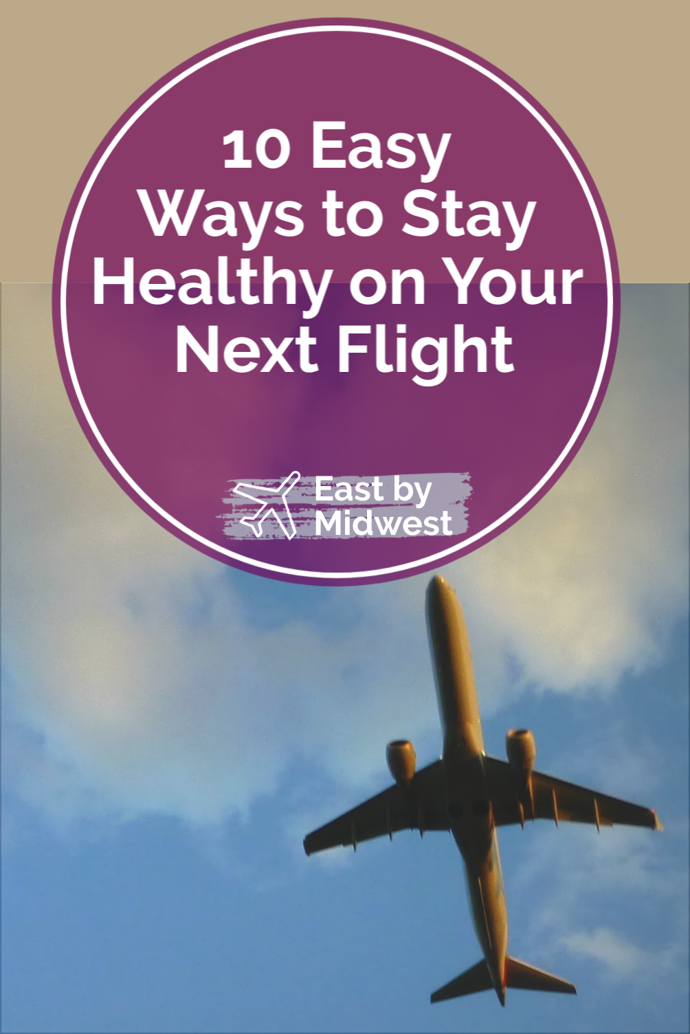 10 Easy Ways to Stay Healthy on Your Next Flight