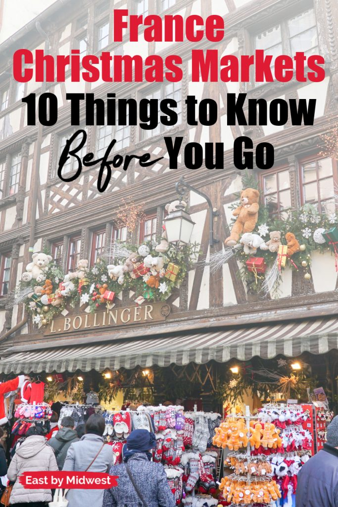 France Christmas markets need to know