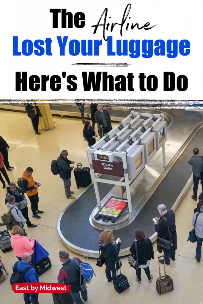 Luggage carousel - Lost or delayed luggage