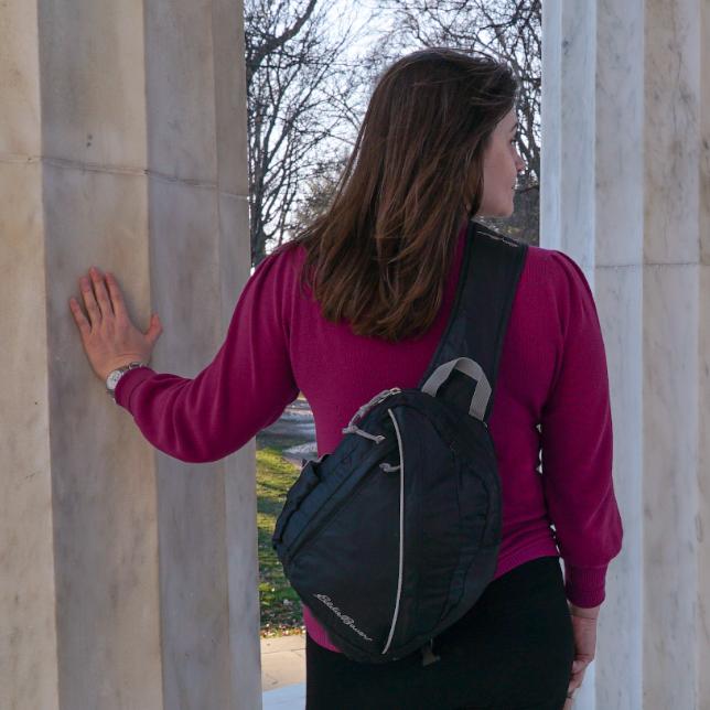 Best Travel Backpacks: Eddie Bauer Sling Backpack