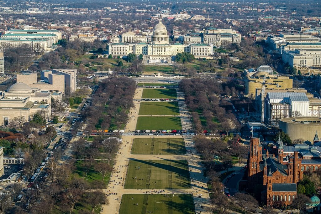 National Mall and US Capitol