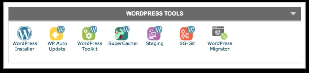 SiteGround WordPress Installer