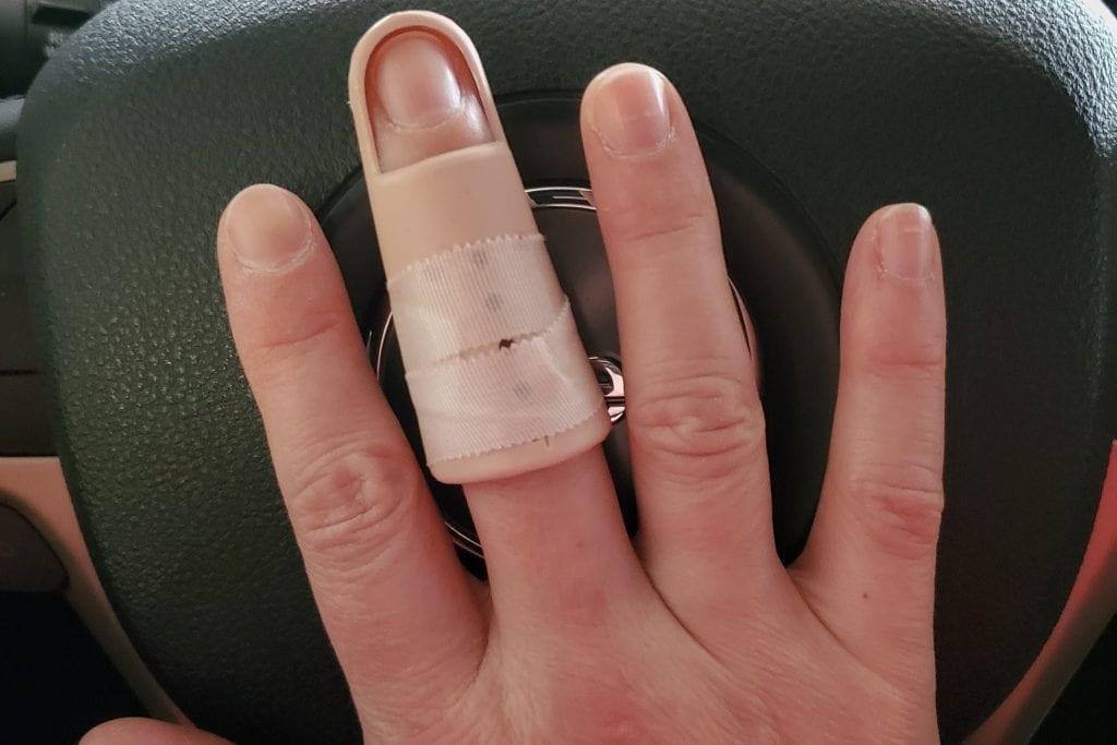 Baseball Finger - Quarantine Journal Week One