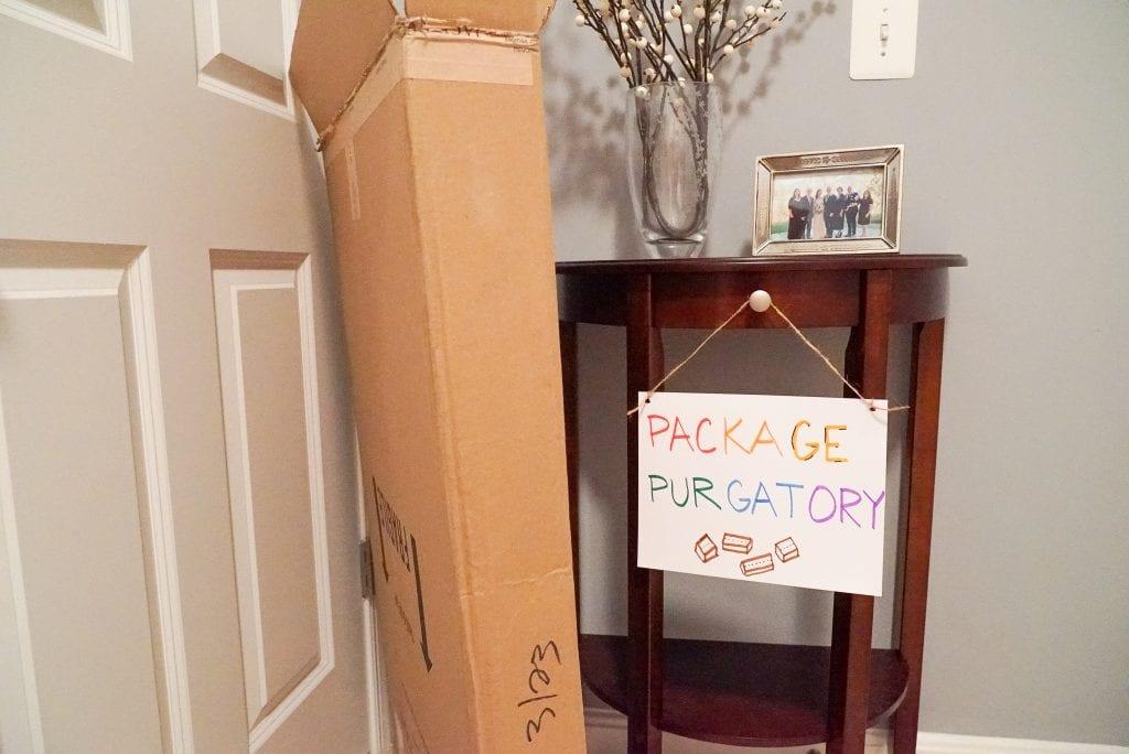 Package Purgatory - Quarantine Journal Week One