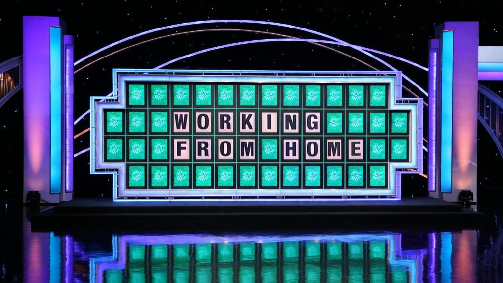 Wheel of Fortune Zoom Background