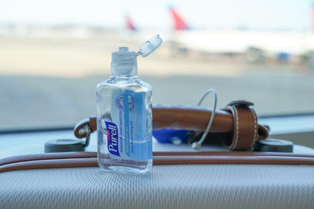Hand Sanitizer - New TSA Security Procedures