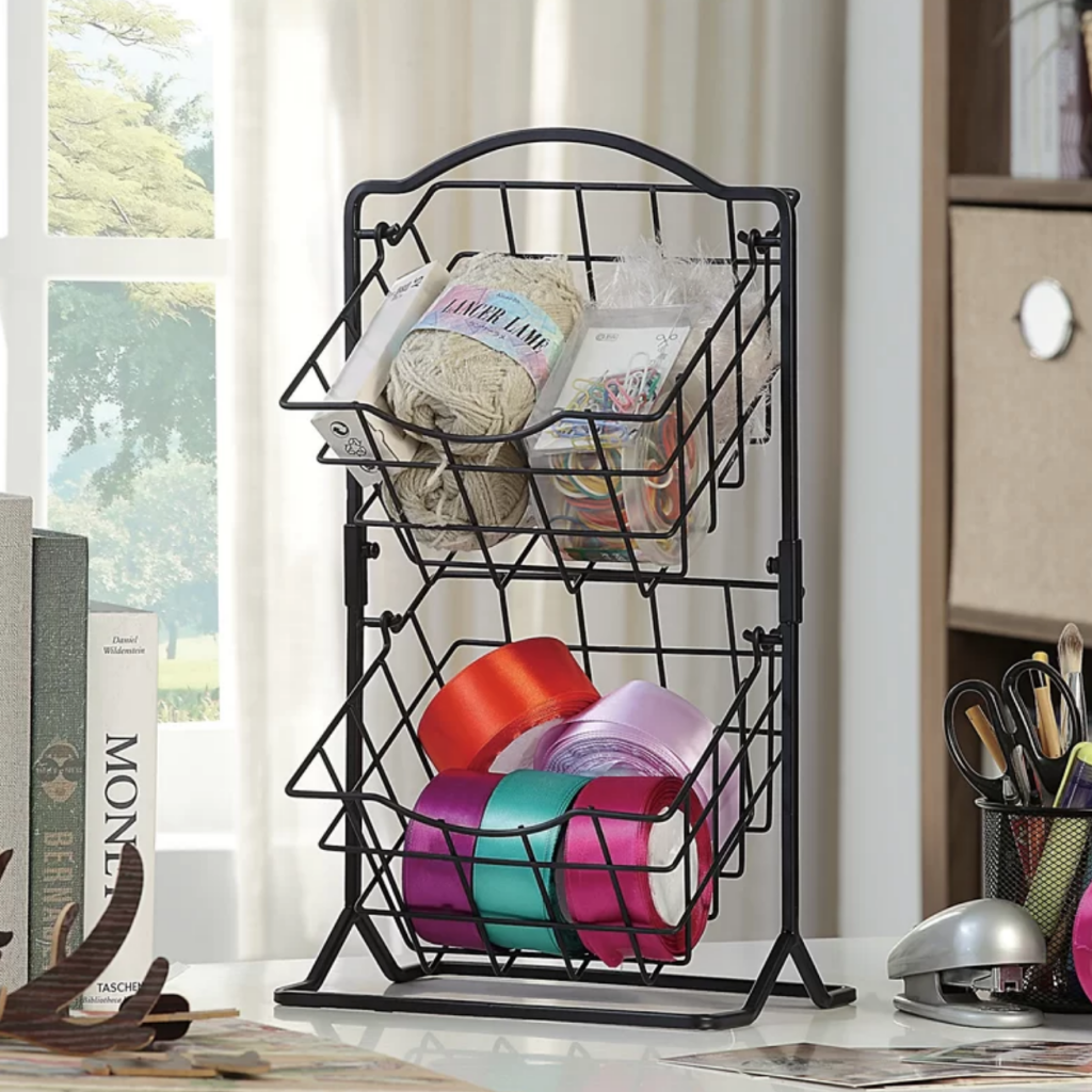Basket Tower - Face Mask Organization
