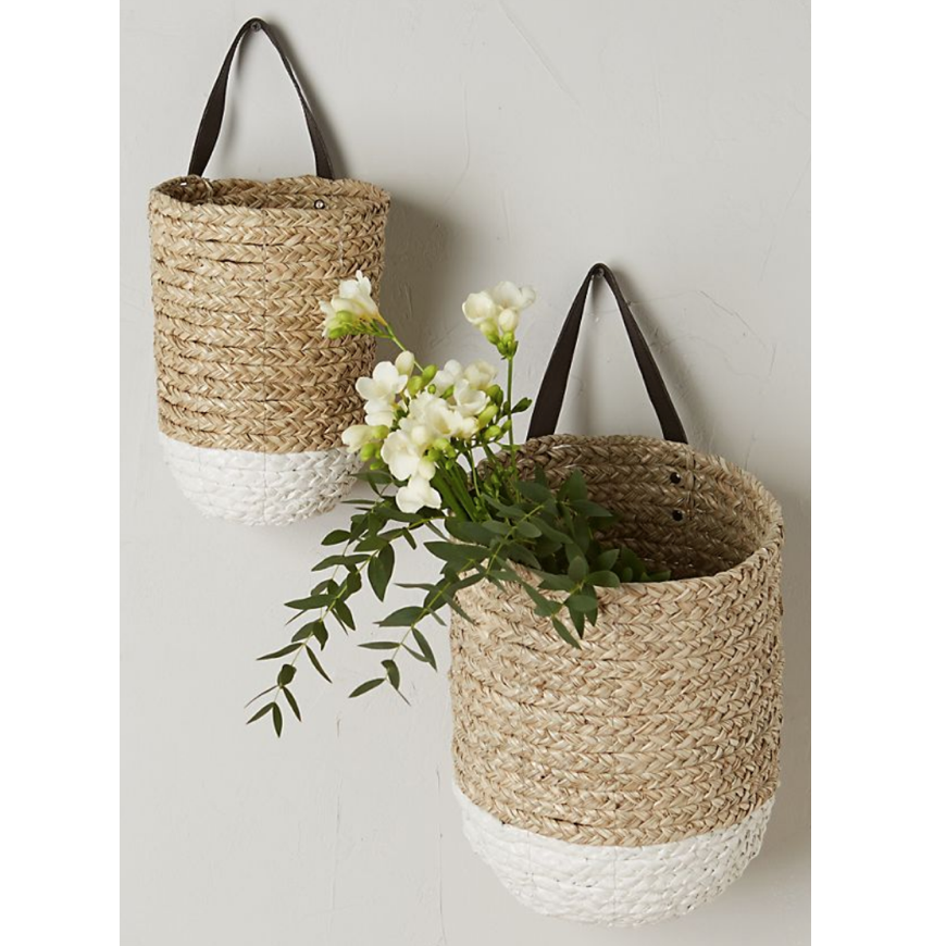 Hanging Basket - Face Mask Organizer