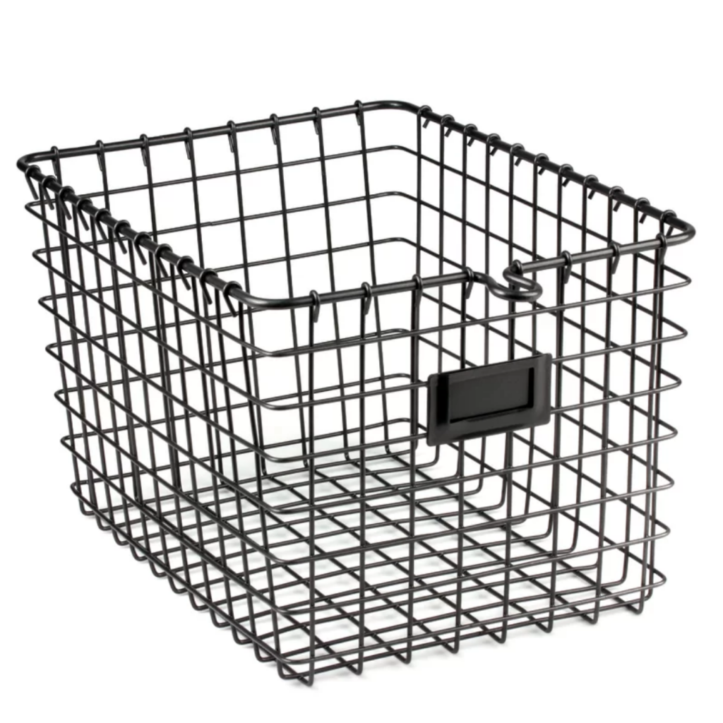 Wire Basket - Face Mask Organizer