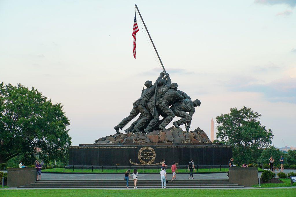 Marine Corps War Memorial Arlington Virginia