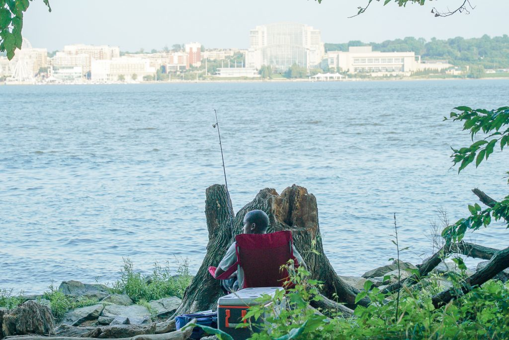 Fishing National Harbor Alexandria Virginia