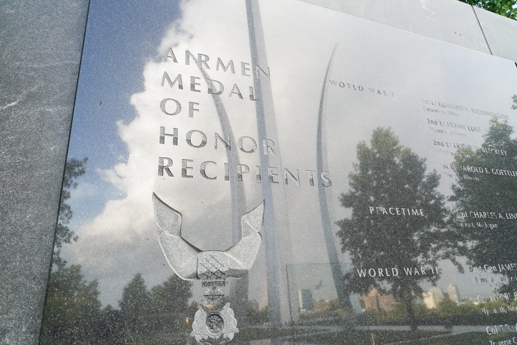 Medal of Honor Recipients Air Force Memorial