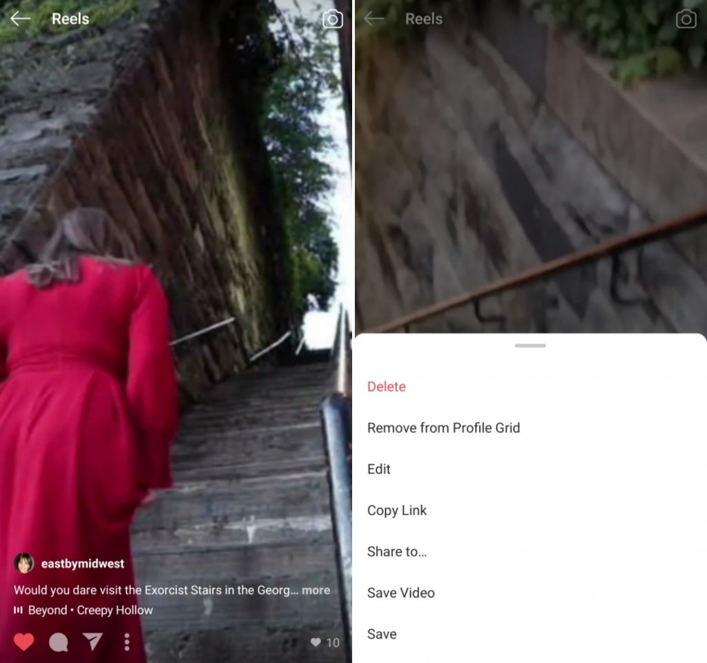 how to download a video from ig reels for ticktok