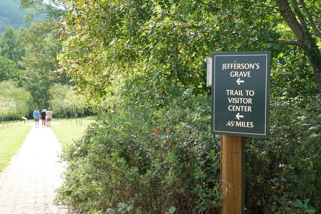 Monticello Visitors Center Trail