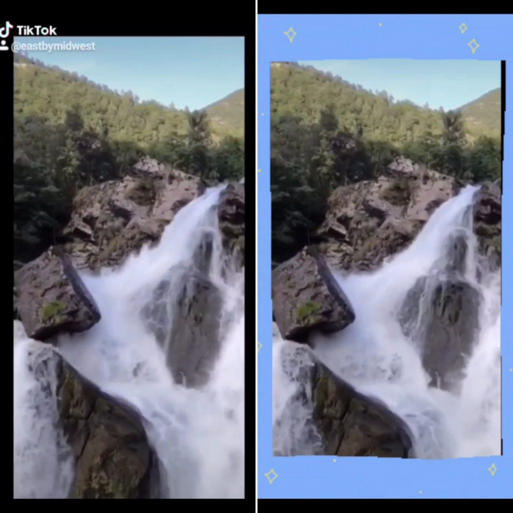 You can cover the TikTok watermark with text or graphics