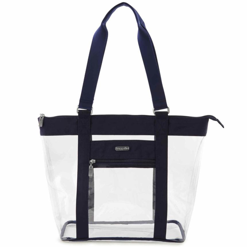 Clear tote bag - unusual travel essentials