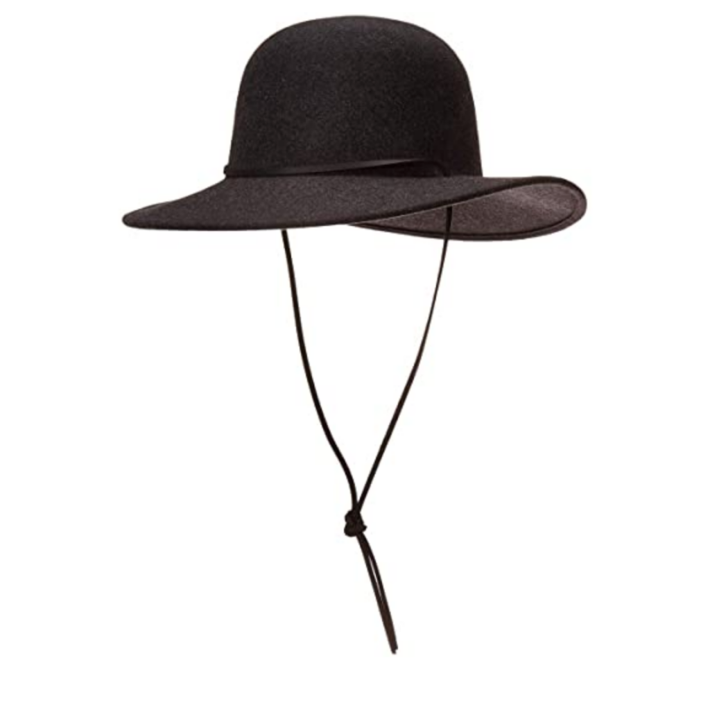 Sun hat with chin tie