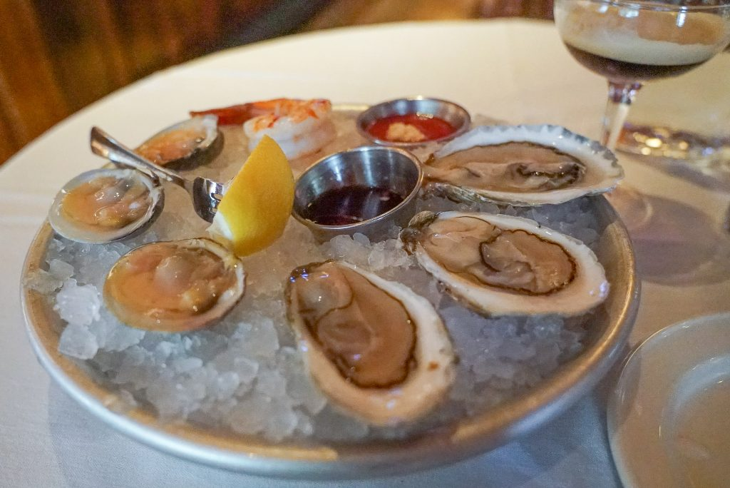 old ebbitt grill - oysters - washington dc