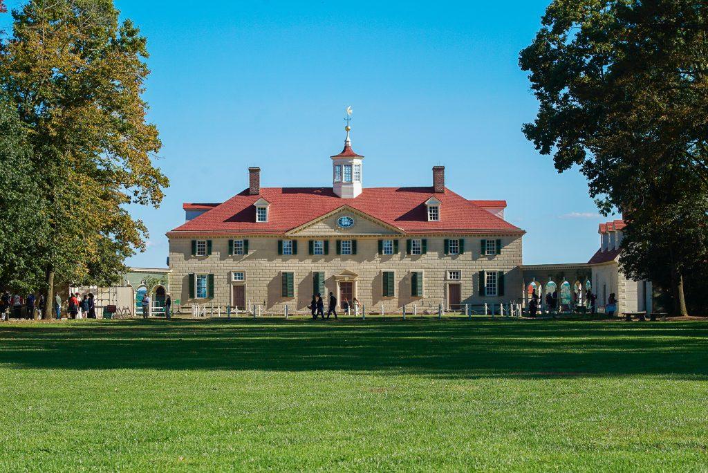 Mount Vernon in the fall Alexandria Virginia - DC fall bucket list