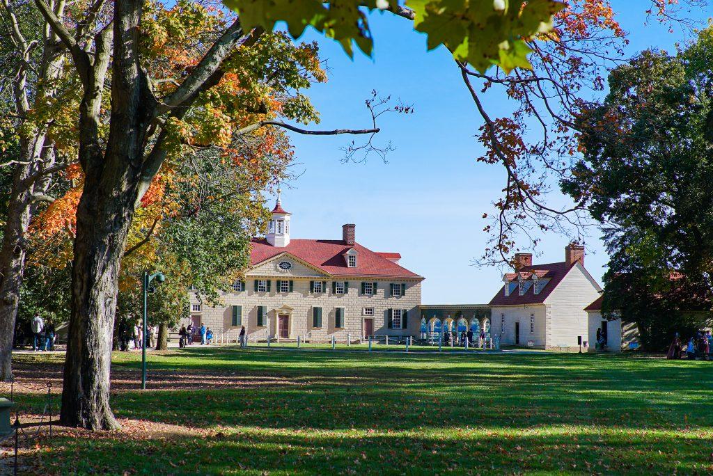 Mount Vernon - Alexandria Virginia - Fall Foliage
