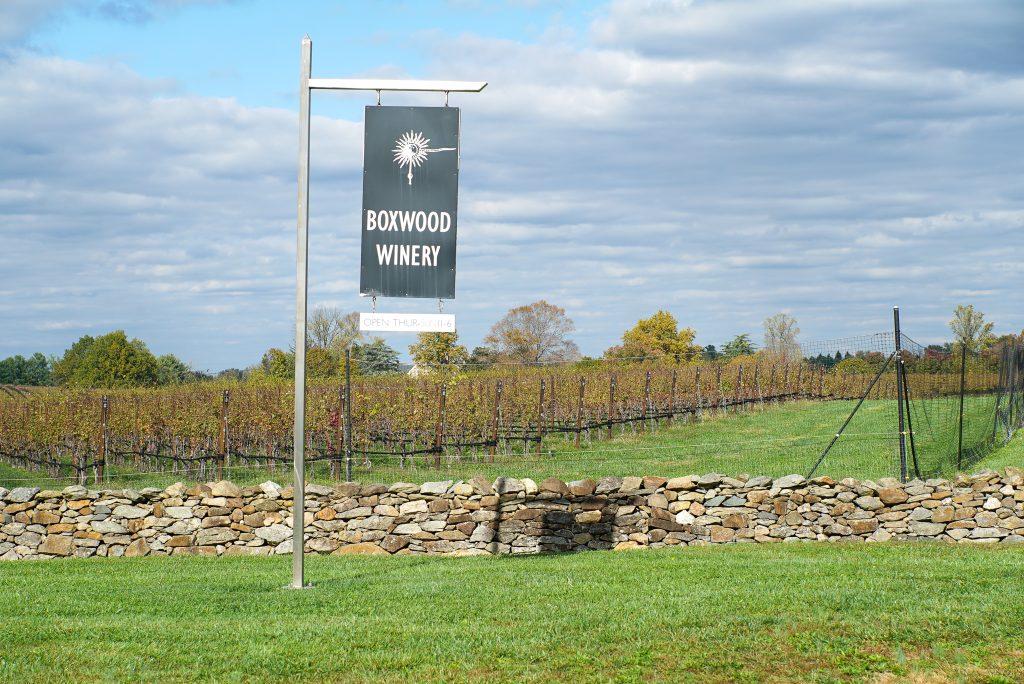 Boxwood Winery Middleburg Virginia