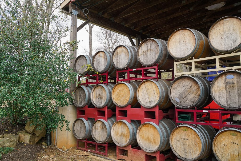 Wine barrels - How to plan a spectacular trip to Middleburg Virginia