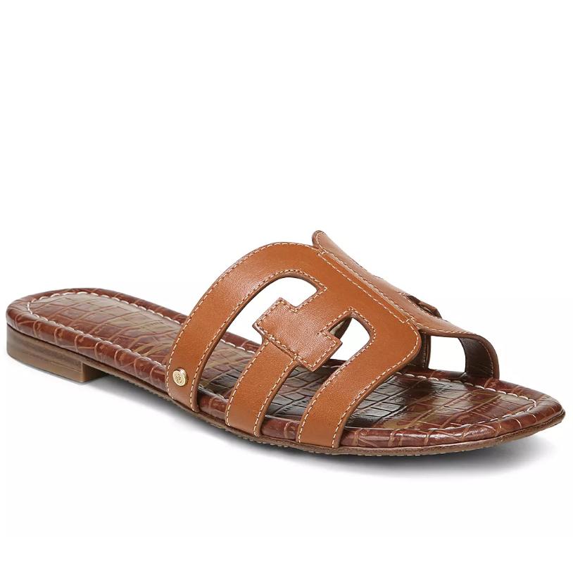 Light brown sandal - France packing guide