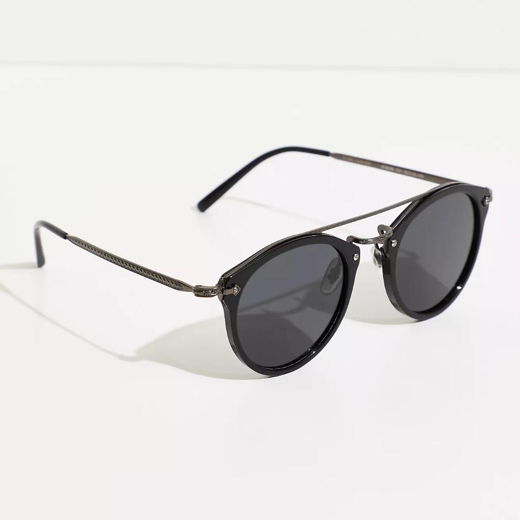 Sunglasses with black rims