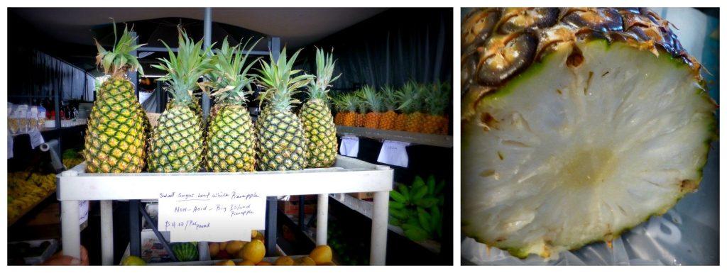 White pineapple