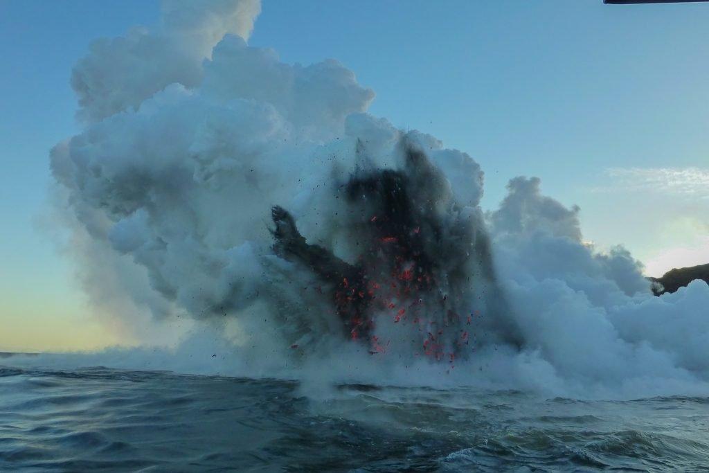 Volcanic explosion - Ultimate Big