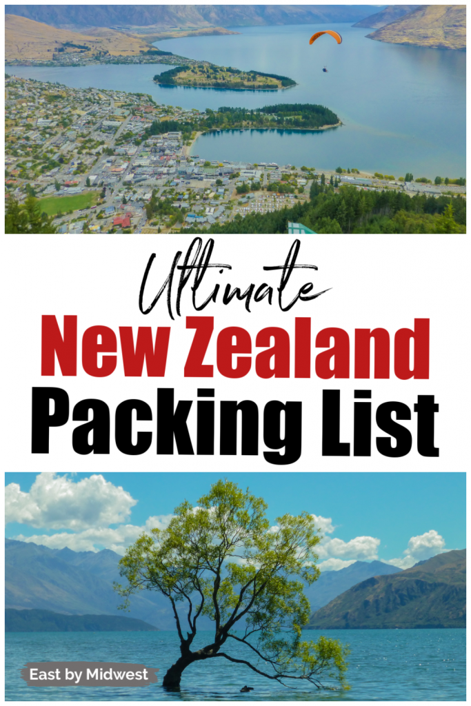 Green islands in blue water - New Zealand Packing Guide