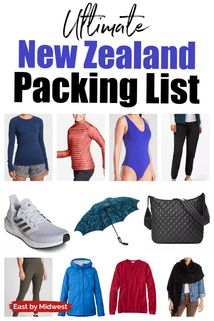 New Zealand Packing Guide