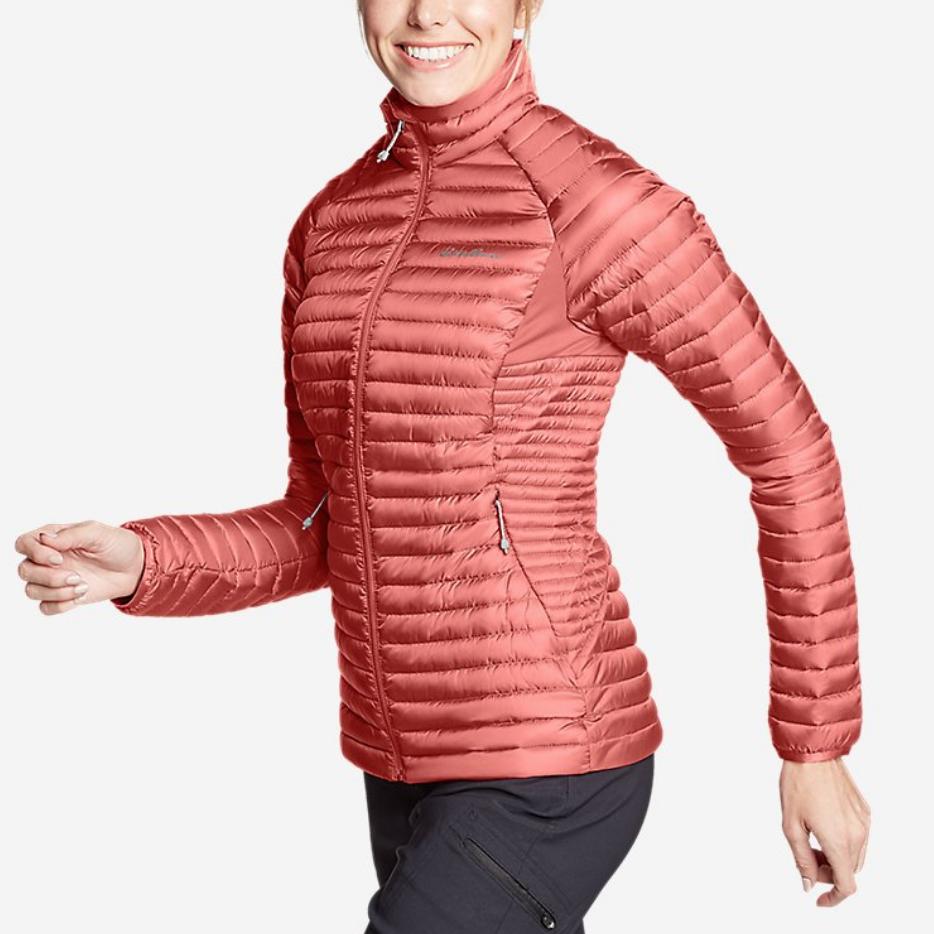 Rose packable jacket