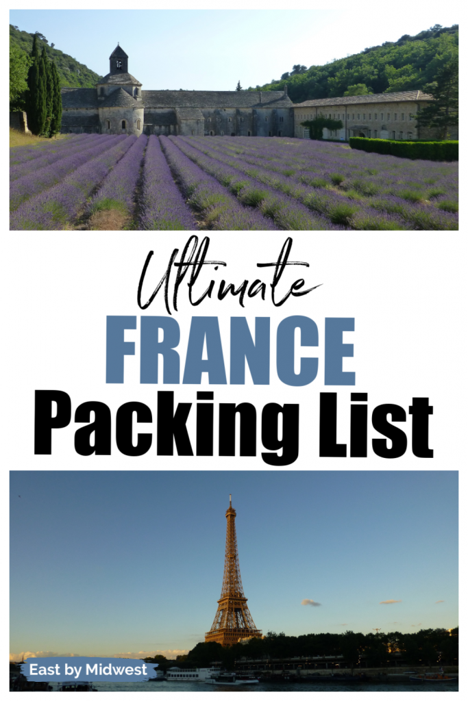 France Packing Guide
