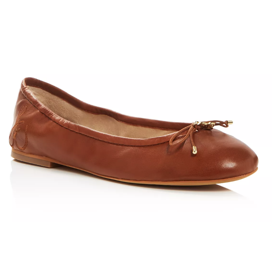 Brown ballet flat - France packing guide