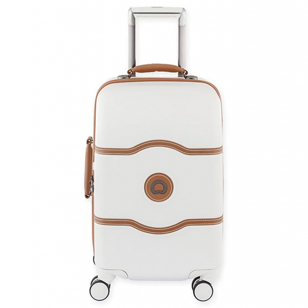 White carryon luggage - France packing guide